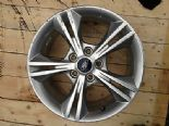 "2012 FORD FOCUS MK5 GENUINE 16"" 5 TWIN SPOKE ALLOY WHEEL SILVER CM5C-1007-AXA"